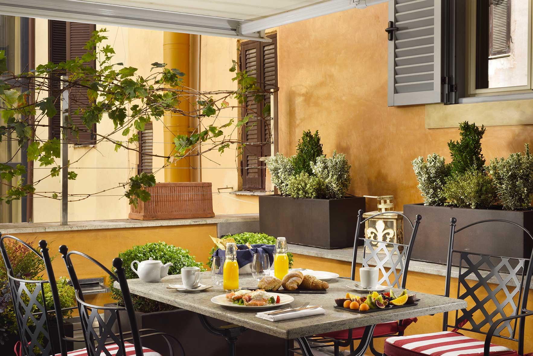 Eating & Drinking - Hotel De' Ricci - Breakfast