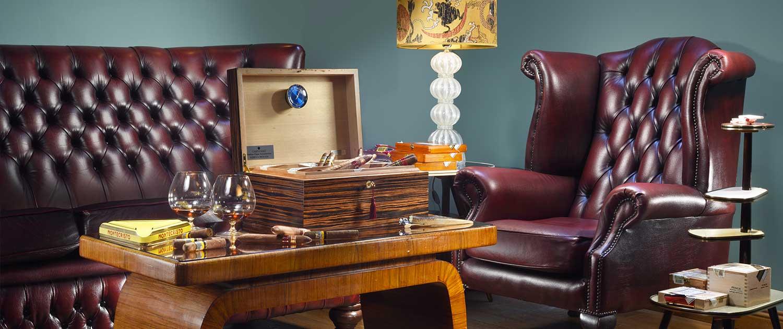 Hotel De' Ricci - Cigar Room