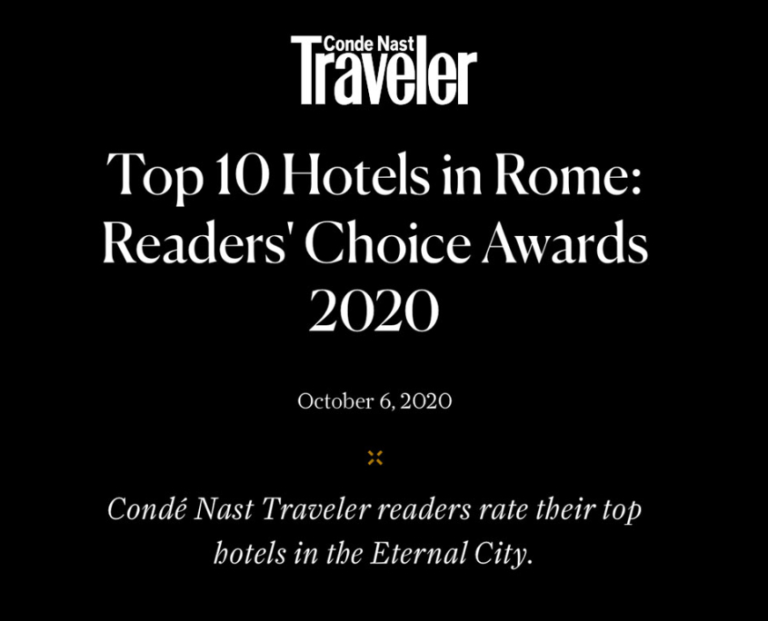 Conde Nast Traveler Top 10 Hotels